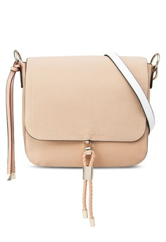 Clean Toggle Front Saddle Handbag