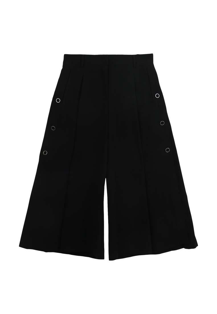 Pants CONNECT Black Flair Cotton H tnZBHqFxt