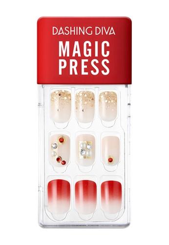 Dashing Diva red Dashing Diva 1 SEC. MAGIC PRESS Manicure Bring Me Love / Press on Nails /Nail Tips E3DEDBECC48189GS_1