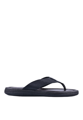 4ec2ec9f3e932 Buy Democrata Democrata Sandalia Pacific In Black Online on ZALORA ...
