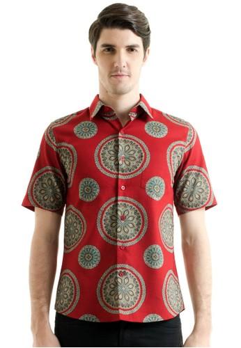 Bateeq Short Sleeve Doby Print Shirt