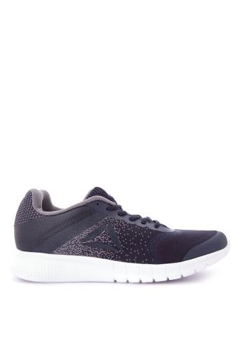 Reebok navy Print Lite Run Running Shoes RE600SH0JA33PH_1