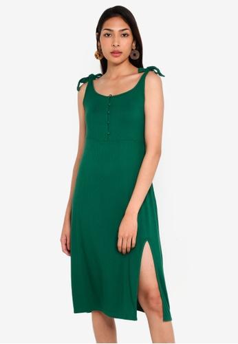 Glamorous 綠色 綁帶洋裝 D3701AA3D18A08GS_1