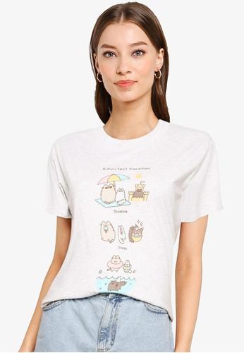 Cotton On white Classic Pop Culture T Shirt A06D6AAE5E684AGS_1