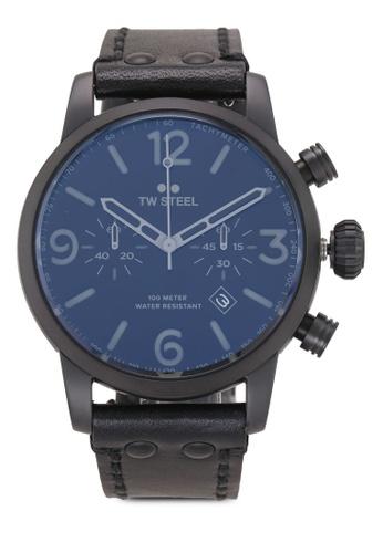 TW Steel black Maverick MS114 Watch 648D9AC1A7B92DGS_1