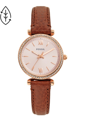 FOSSIL brown Carlie Watch ES5112 F397BAC15531CFGS_1