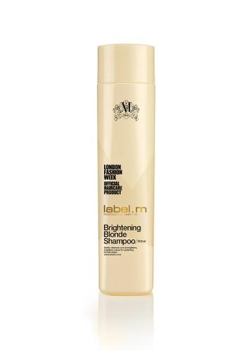 label.m beige and gold Label M Brightening Blonde Shampoo 300ml LA590BE12VODSG_1