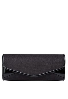 Duo-Textured Dinner Clutch