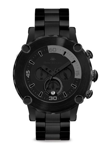 René Mouris black Santa Maria - 49mm Quartz Chrono Watch 91A15AC23FD029GS_1