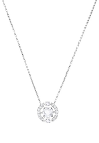 Swarovski silver Sparkling Dance Necklace C69CEACD52FEF3GS_1