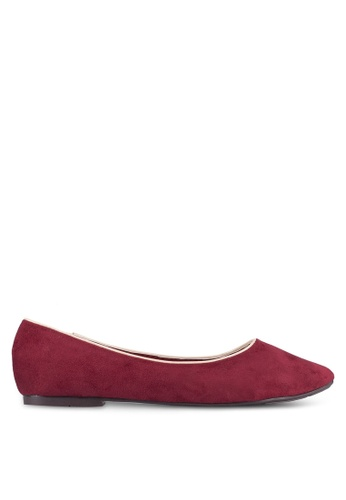 Spiffy red Casual Flats E09D2SHCDA58D2GS_1