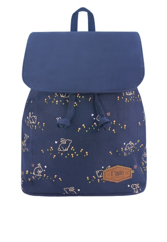 80d3bd161a8 Buy Ripples Meadow Rabbits Ladies Backpack Online on ZALORA Singapore