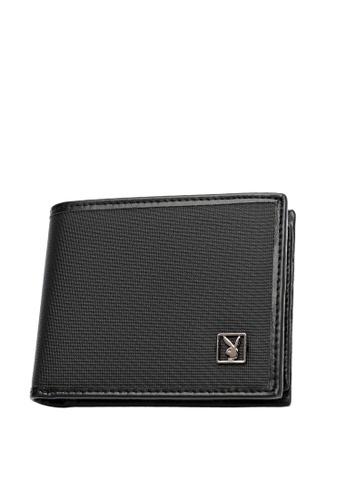 Playboy black Playboy RFID Blocking Wallet 67C8DAC13B86C6GS_1