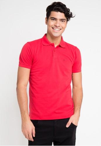 Hassenda red Short Sleeve HA130AA0VPENID_1