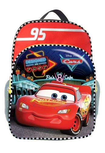 Disney Cars red Disney Cars Macqueen Kids Backpack (12-inch) FB93CKC8F3857CGS_1