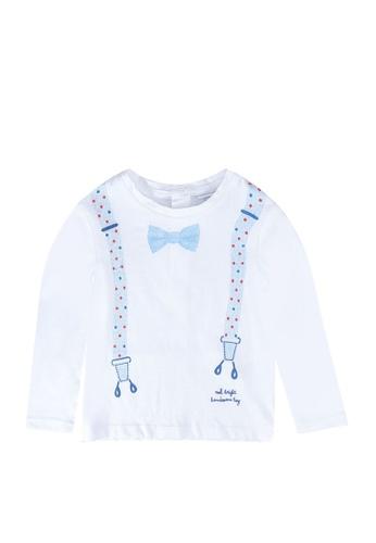 OVS white Suspenders T-Shirt 9202FKA3EB2996GS_1