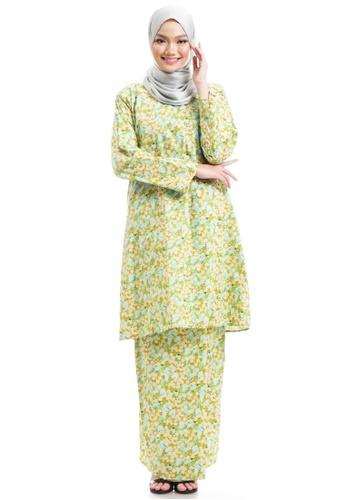 Ashura multi Qiandra Kurung Cotton Pahang 840A8AA4595A2CGS_1
