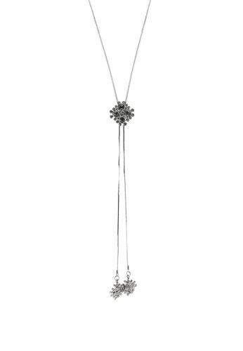Megane silver Nova Rosil Necklace 73492ACBAADF11GS_1