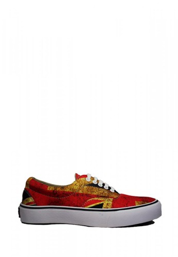 D-Island red D-Island Shoes Sneakers Motif England Low Canvas Red 65A8BSHF48334FGS_1