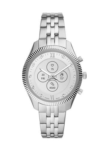 Fossil silver Scarlette Hybrid HR Smartwatch FTW7041 EFA57AC0C8C0BDGS_1