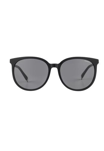 ESPRIT ESPRIT Oval Black Sunglasses ET13124 ES374AC46GAZMY_1