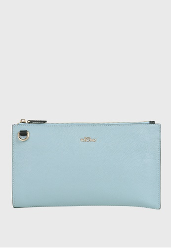 Tocco Toscano blue Lunar Wristlet Clutch (Light Blue) 33959AC762703FGS_1