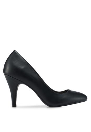 Dorothy Perkins black Black Claudia Court Shoes CCBD2SH04115EEGS_1