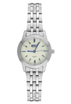 Bosck Women's Round Dial Stainless Steel Wrist Watch 5315