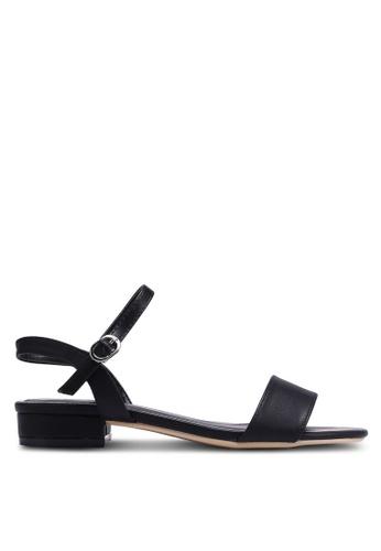 Nose black Strappy Sandals D5DC0SH5349A62GS_1