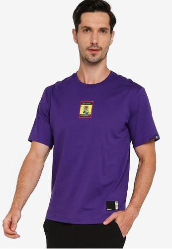 361° purple Sports Life Short Sleeve T-Shirt EE4C1AA77F261AGS_1
