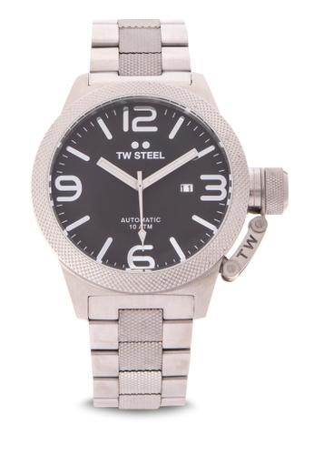 TW Steel silver CB6 Canteen Bracelet Analog Watch TW310AC0KMAXPH_1