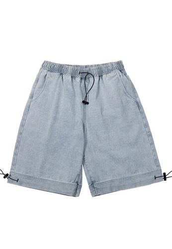 Twenty Eight Shoes blue Soft Faded Denim Shorts 3130S20 AF8C4AA99B080AGS_1