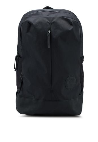 Timberland black Zip Top Backpack 3A0D6AC8EDDC85GS_1