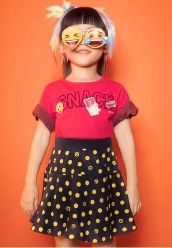 Bossini pink Bossini Kids Girl T-Shirt Bt Fuchsia (14084909039) CF6FEKAF60D80DGS_1