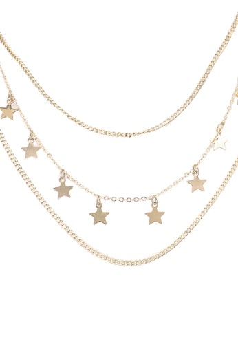 Pieces gold Kaydel Necklace B5D6CAC77097F9GS_1