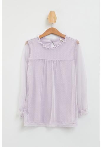 DeFacto pink Long Sleeve Round Neck Top 9D1F5KA1B14E3FGS_1