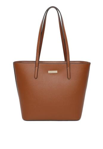 Milliot & Co. 褐色 Camila Tote Bag 80386AC03FFF15GS_1