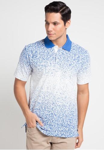 Cardinal blue Tshirt Wangki Formal EE189AA544DBC4GS_1