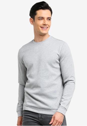 Only & Sons 灰色 混色毛衣 DB35BAA983651DGS_1