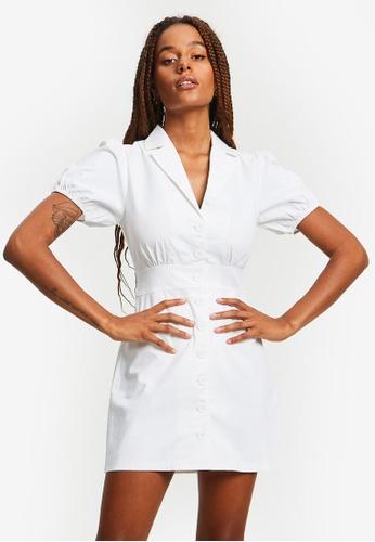 Calli white Taliyah Dress 6DE1AAA99D627BGS_1