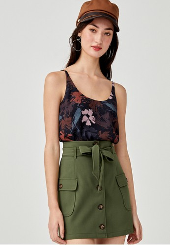 Love, Bonito black Doreen Camisole Top in Floral Symphony 42BC2AAAAFDE7AGS_1