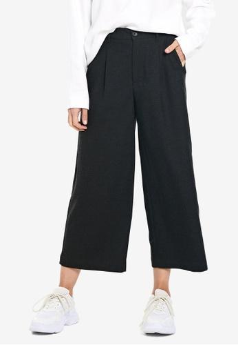 LC WAIKIKI black Wide Leg Trousers B03B4AA225597AGS_1