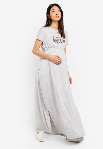 LC Waikiki grey Grey Melange Dress F6303AA08A9108GS_1
