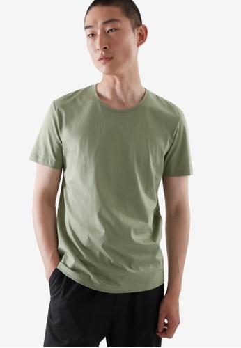 Cos green Regular-Fit T-Shirt 15C76AAB689DDDGS_1
