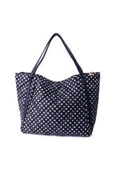 Playful Dots Oversized Tote