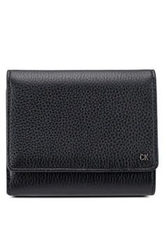 Calvin Klein black Workman Medium Trifold Wallet - Calvin Klein Accessories  DCF0FACC81ED4EGS 1 c145bea102748