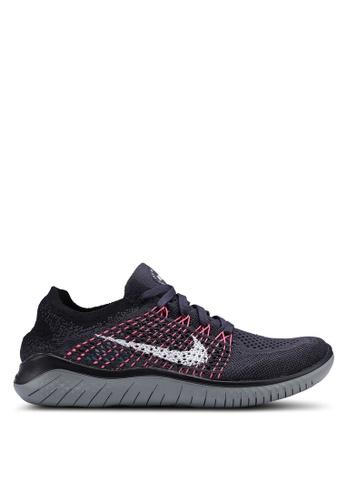 f45666a45458 Nike black and multi Nike Free Rn Flyknit 2018 Shoes 7EA72SH96B2B53GS 1