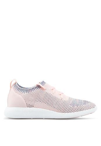 ALDO pink Portorford Sneakers B136ESH504FB56GS_1