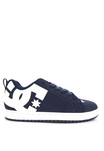 DC navy Court Graffik Shoes 16042SH82F8326GS_1