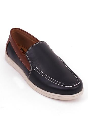 7soles navy Craig Mens Casual Shoes 7D755SHA6CA5BBGS_1